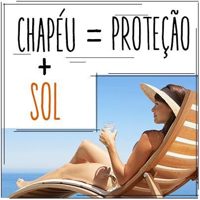 Chapéu + Sol = Proteção