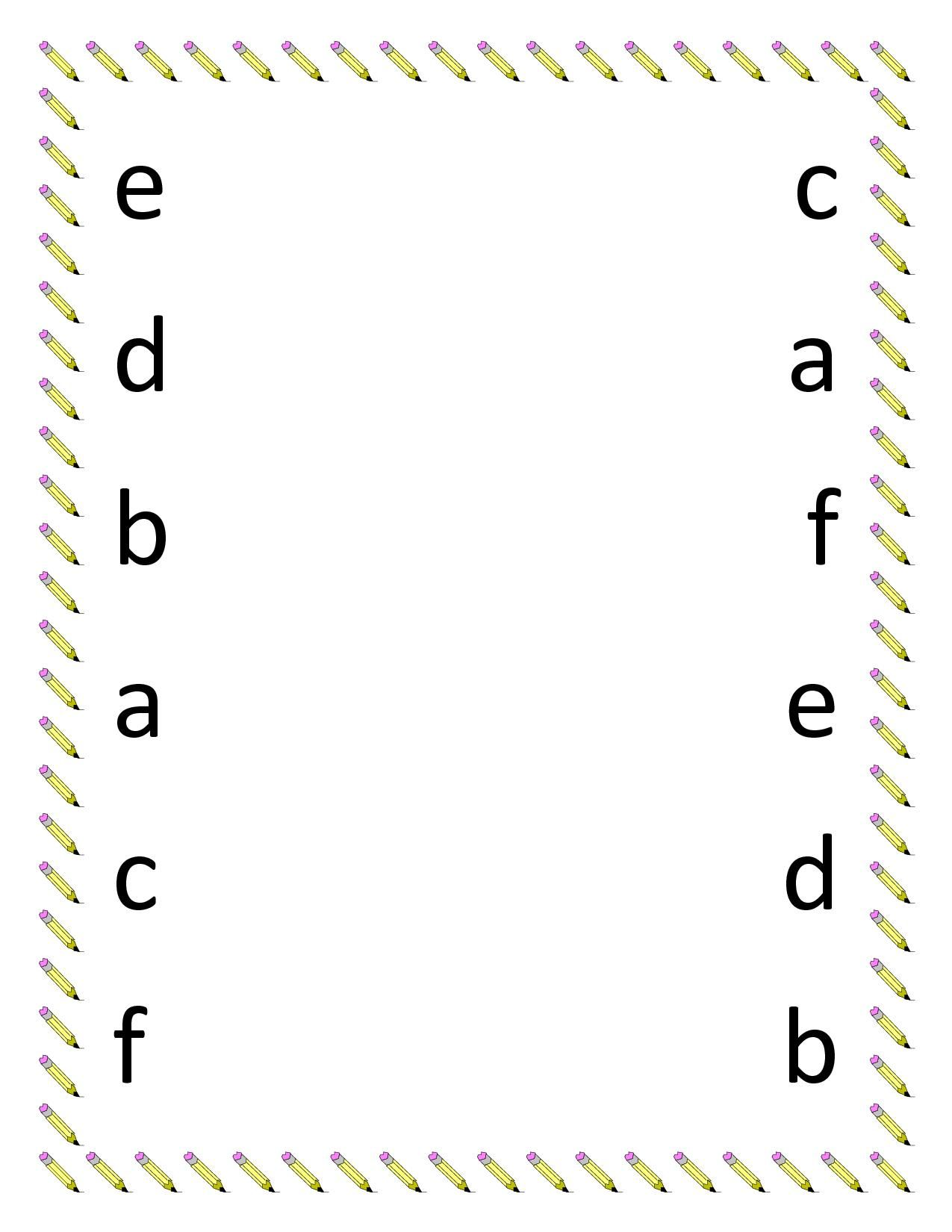 Lowercase Abc Practice Sheets In