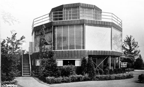 Round House Ruminations House Of Tomorrow Round House American Architecture