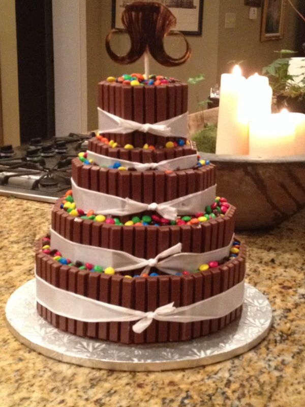 Kit Kats And Reeses 5 Tier Cake Tiered Cakes Birthday Amazing