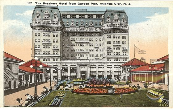 Atlantic City Breakers Hotel The Breakers Hotel Overlooked The Boardwalk And The Beach The Breakers Hotel H Breakers Hotel Atlantic City Hotels Atlantic City