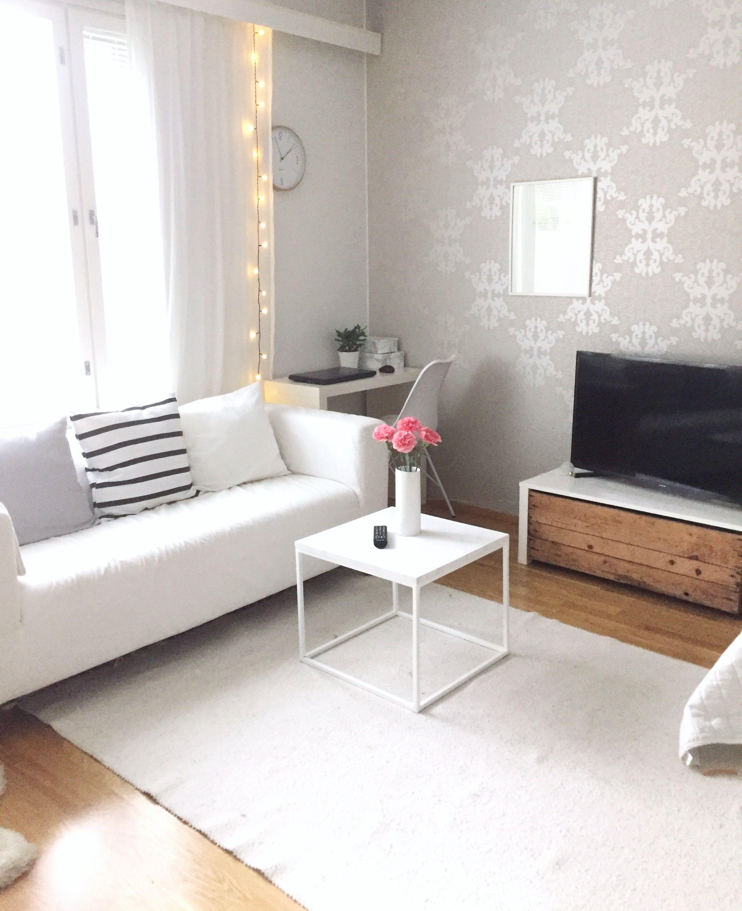 30 Small Bedroom Interior Designs Created To Enlargen Your: Yksiö, Yksiön Sisustaminen, Olohuone, Livingroom, Diy