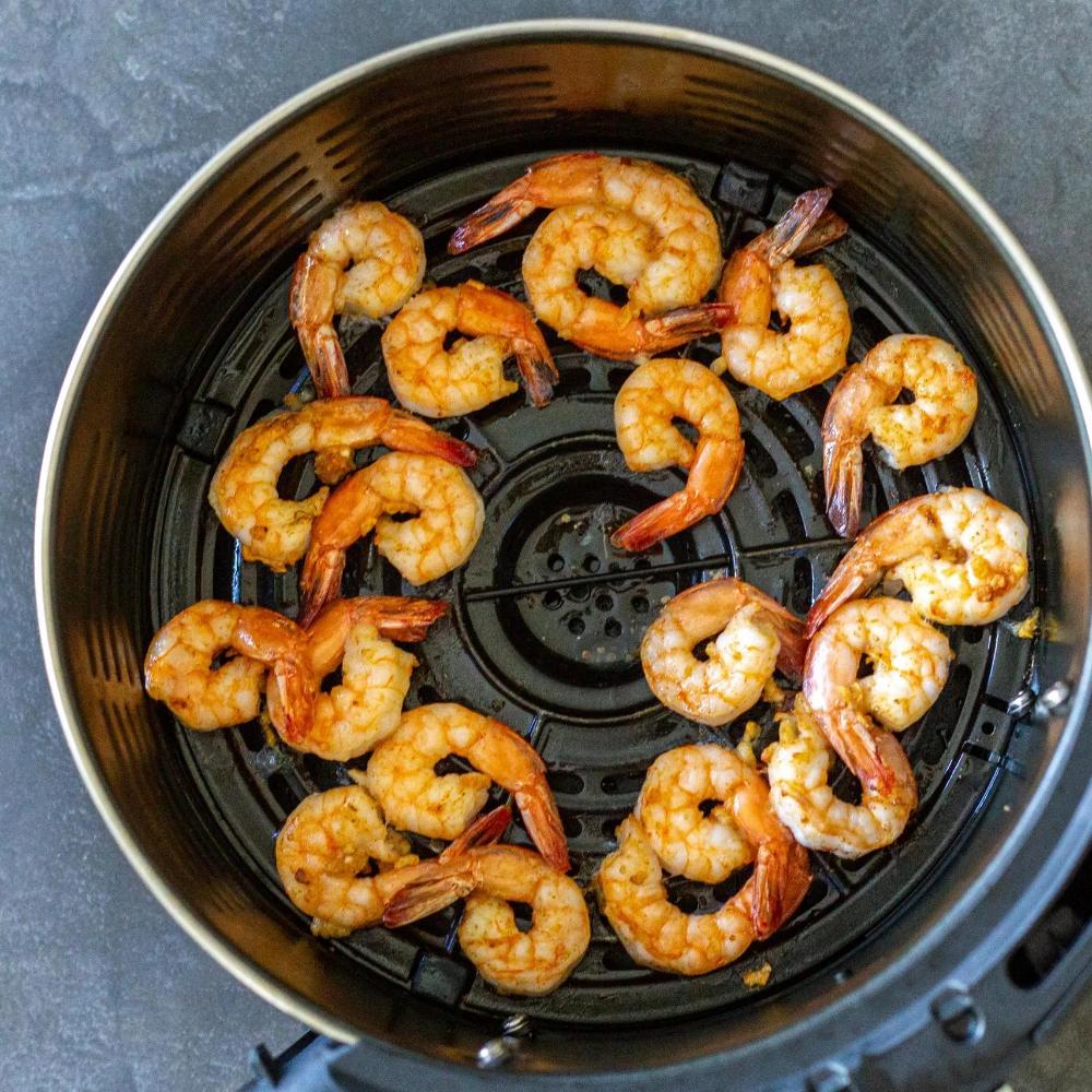 15 Minute Air Fryer Shrimp Recipe Momsdish in 2020 Air