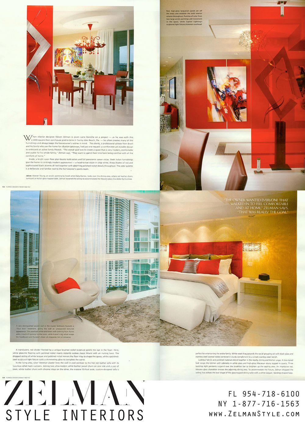 Zelmanstyle Com Featured In Miami Home Decor Magazine Mia365