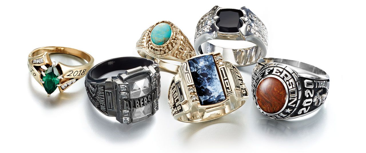 high school class rings rings class ring ring and