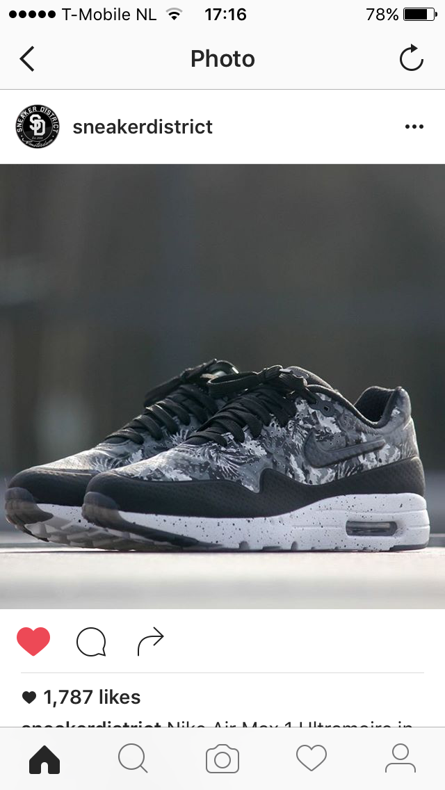 Nike air max 1 #ultramoire #nikeairmax87