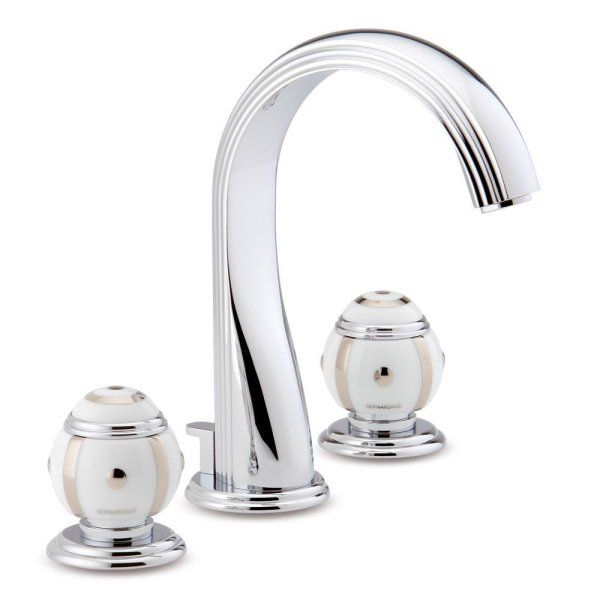 A7B THG Paris Bernardaud Ithaque Platinum Decor Widespread Faucet ...