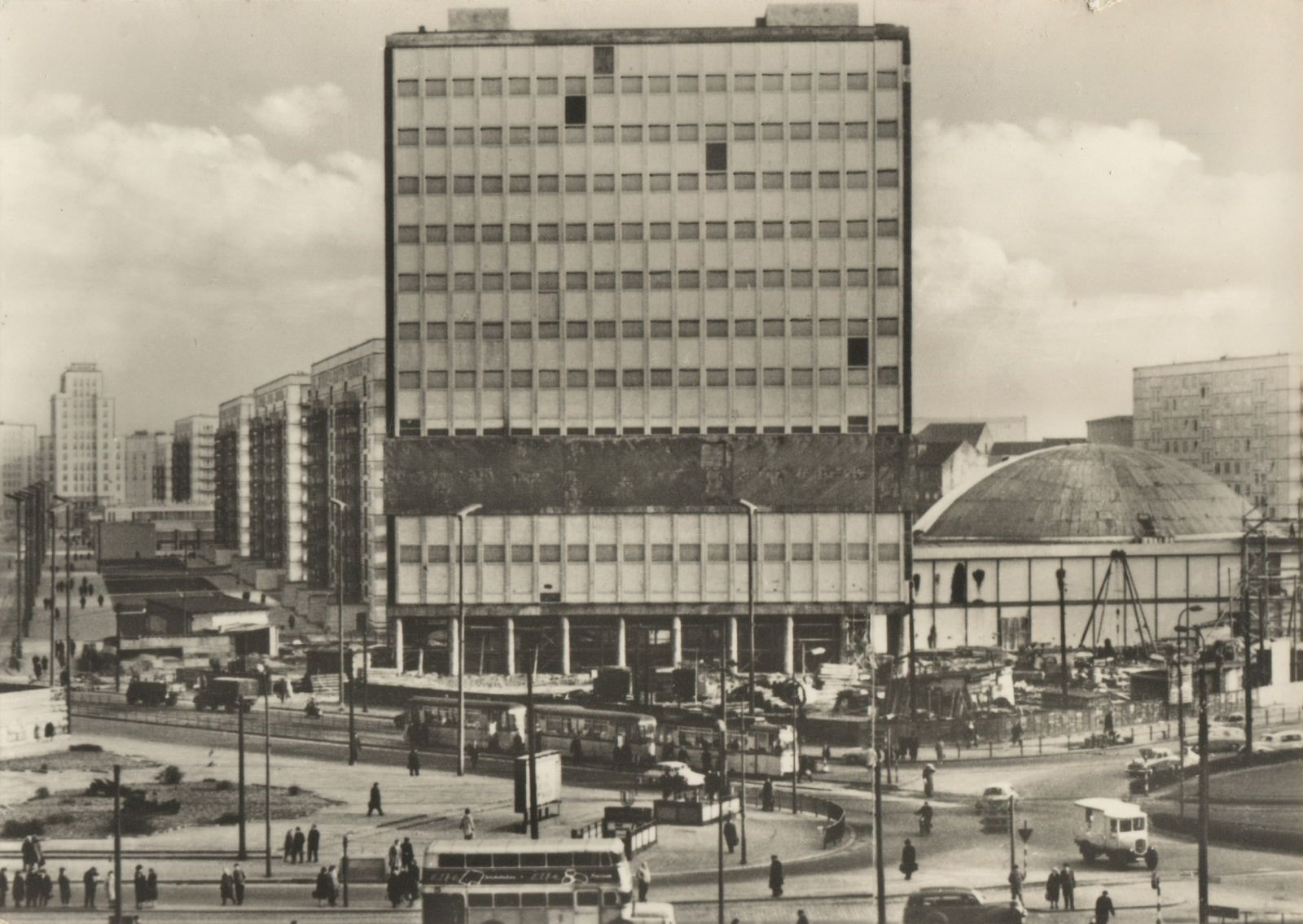Alexanderplatz 1964 East Berlin West Berlin East Germany