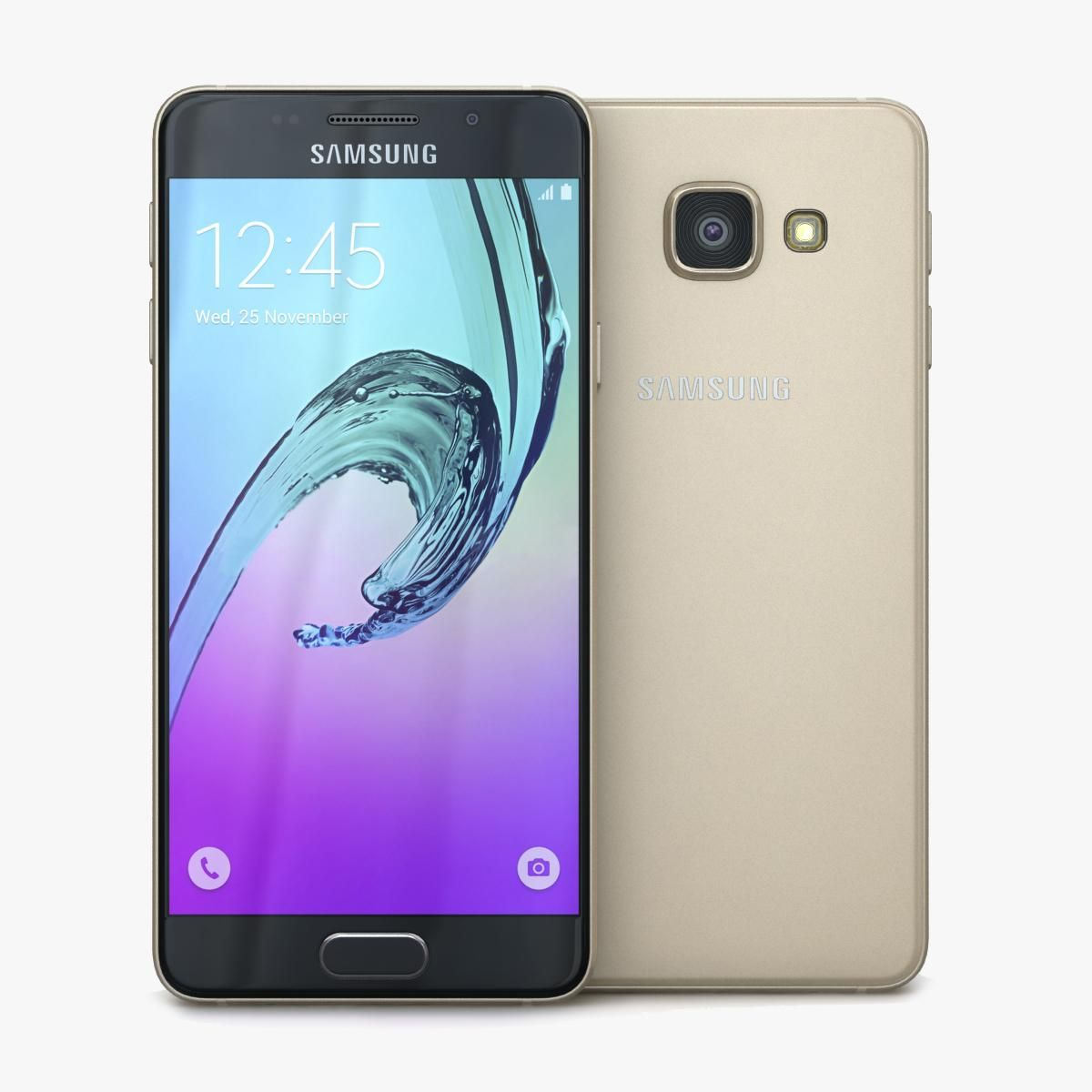 Samsung Galaxy A3 2016 Gold 3d Model Ad Galaxy Samsung Model Gold Samsung Galaxy A3 Samsung Samsung Galaxy