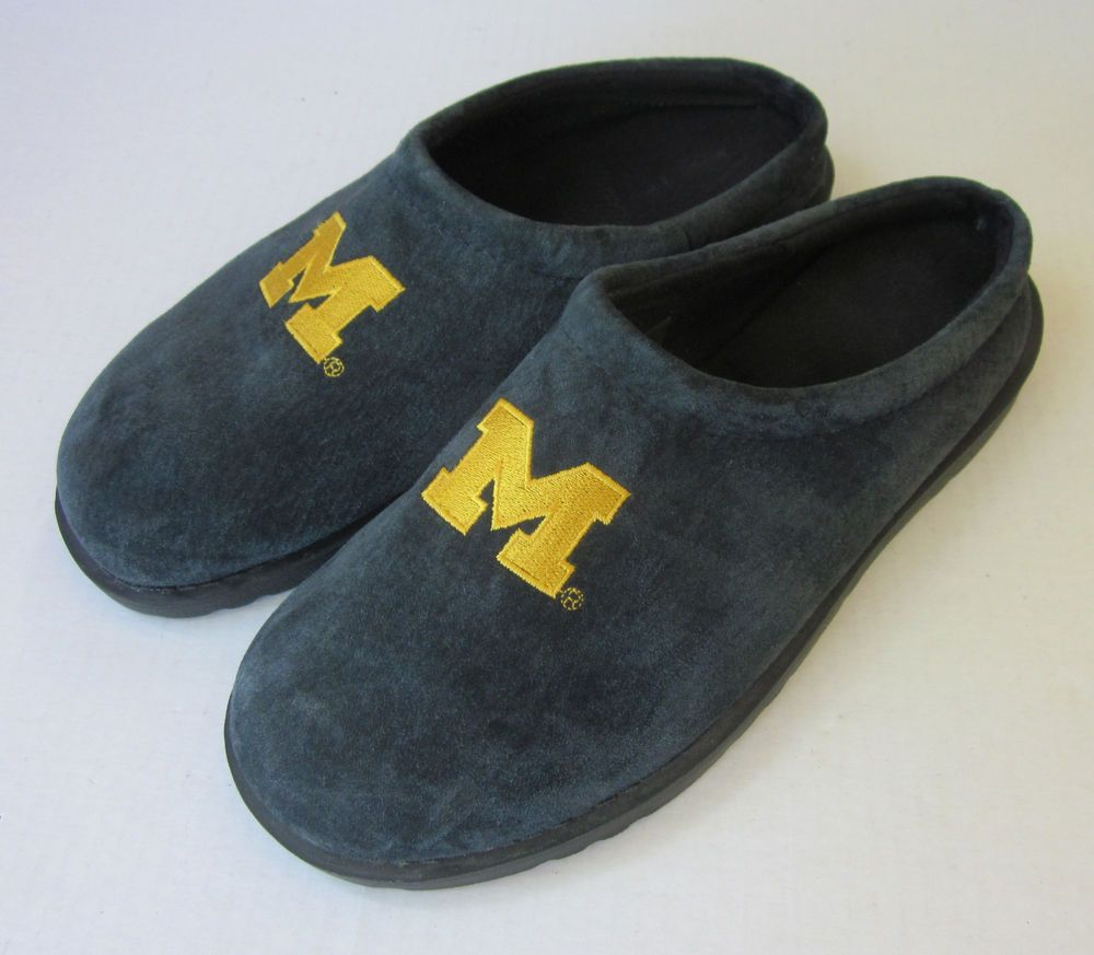 Hush Puppies Men S University Of Michigan Suede Slip On