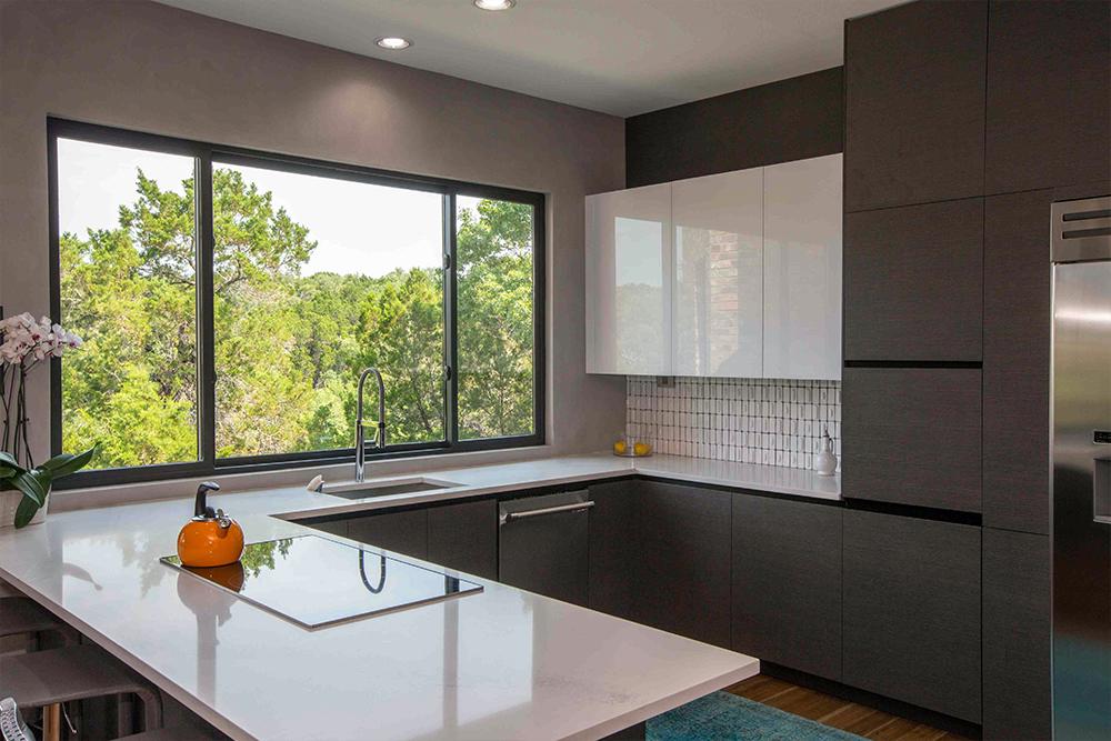 Sleek Kitchen Cabinetry Storage Idea Snaidero Way Design In Fusion