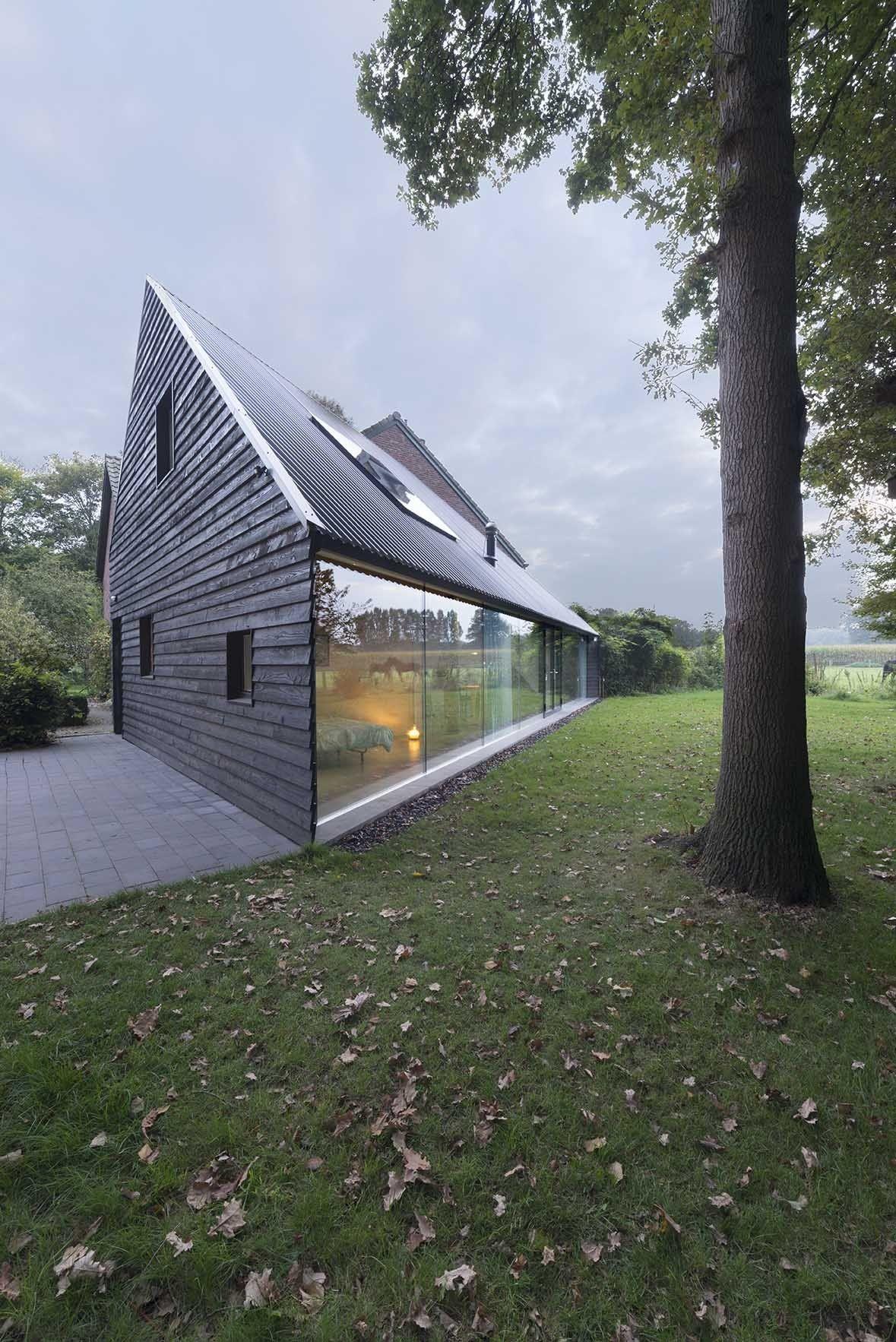 Galeria De Residencia Em Almen Barend Koolhaas 1 Countryside House Architecture Modern Architecture