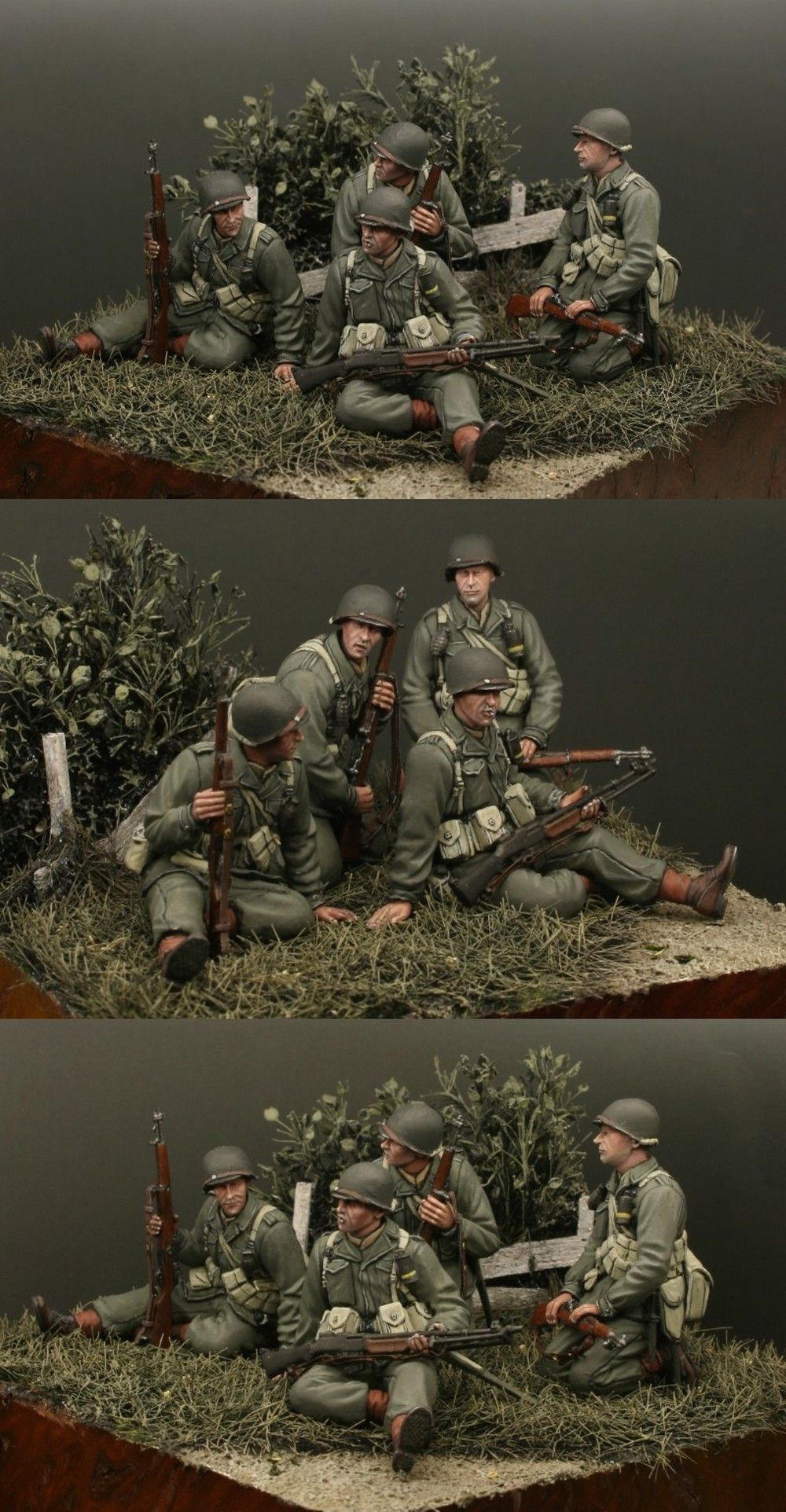 Incredible Painting 1/35 Dragon Figures (US Army Tank Riders