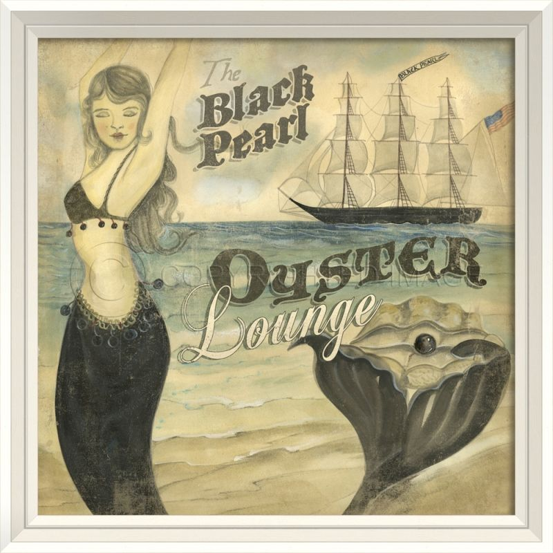 Beach Posters - The Black Pearl Oyster Lounge | Beach posters and ...