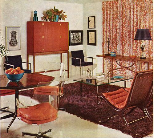 1960s Interior Design | ... Interior Design Is Anything But Bland.  Transport Yourself Back To A