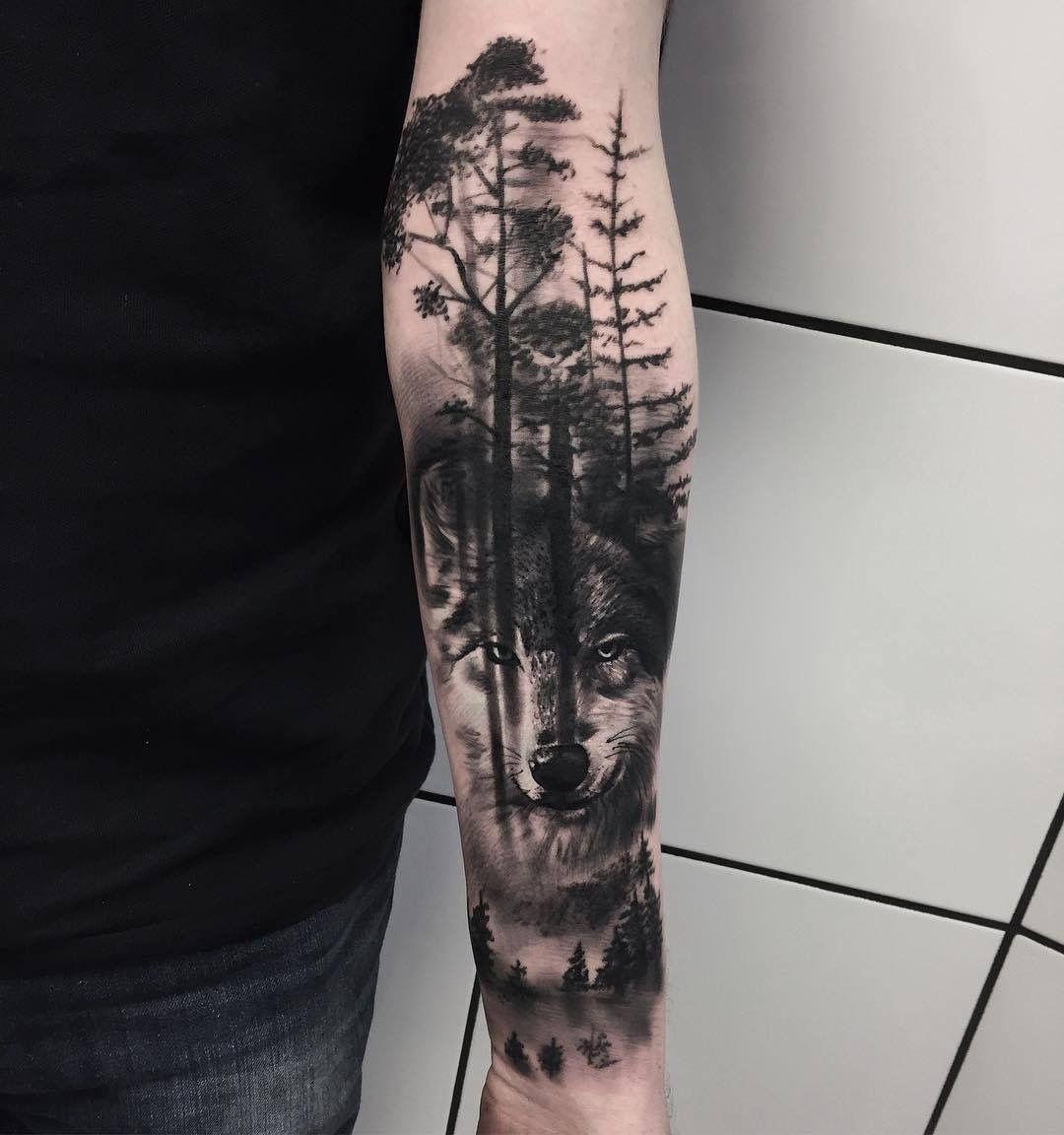 Astounding Feder Tattoo Unterarm Sammlung Von Tattoo, Schwarz, Künstler, Coole Tattoos, Wolf Unterarm,
