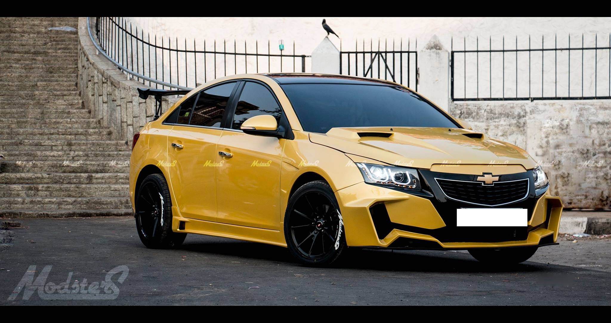 Chevrolet Cruze Project 'Yellow Transformer' In Images