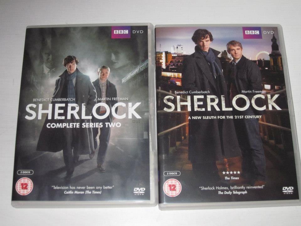 Sherlock TV Show Seaso... Benedict Cumberbatch Dvd