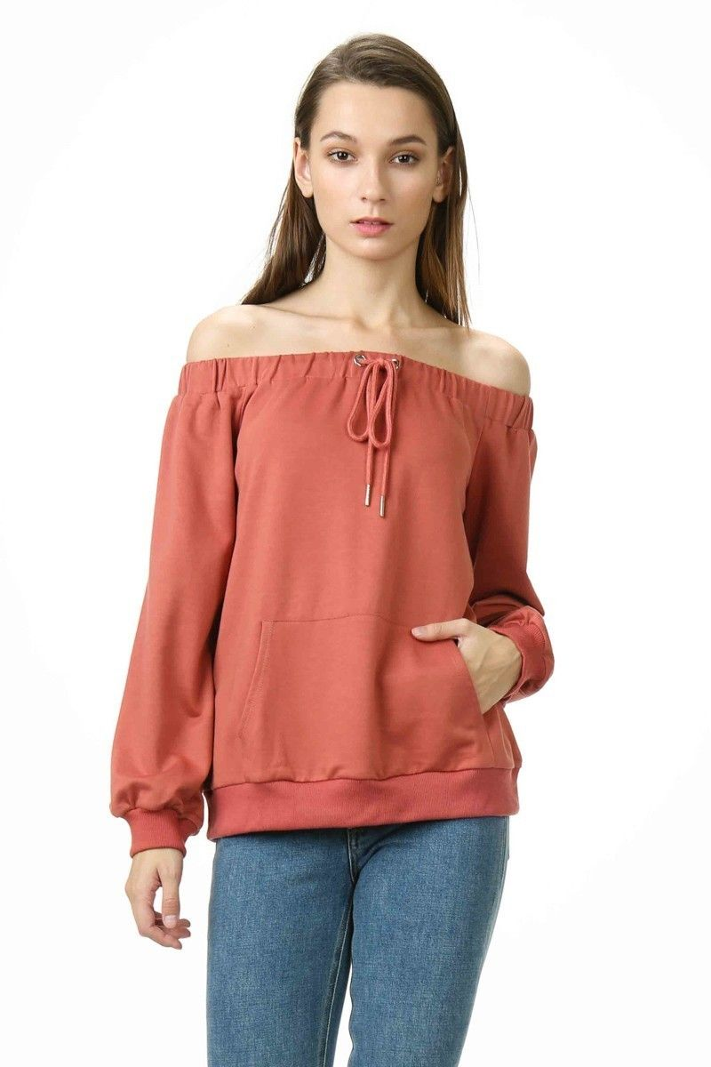569bec884c3 Lumiere - Young Contemporary Long-sleeve, off-the-shoulder ...