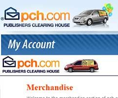 PCH Account Myaccount pch com - You could shop online with Publisher