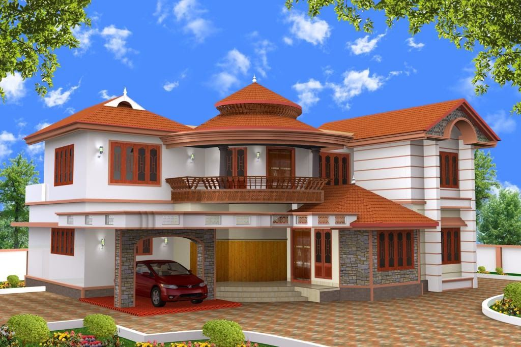 Beautiful Houses Pictures In Kerala Garage Pinterest