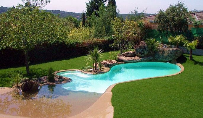 Piscinas de arena swimming pool pinterest piscinas for Fotos piletas modernas