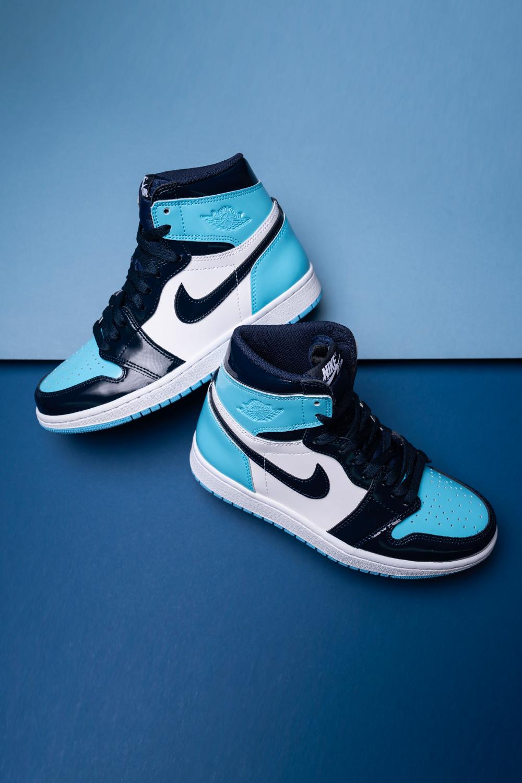 "Women's Air Jordan 1 High OG ""UNC Patent Leather"""
