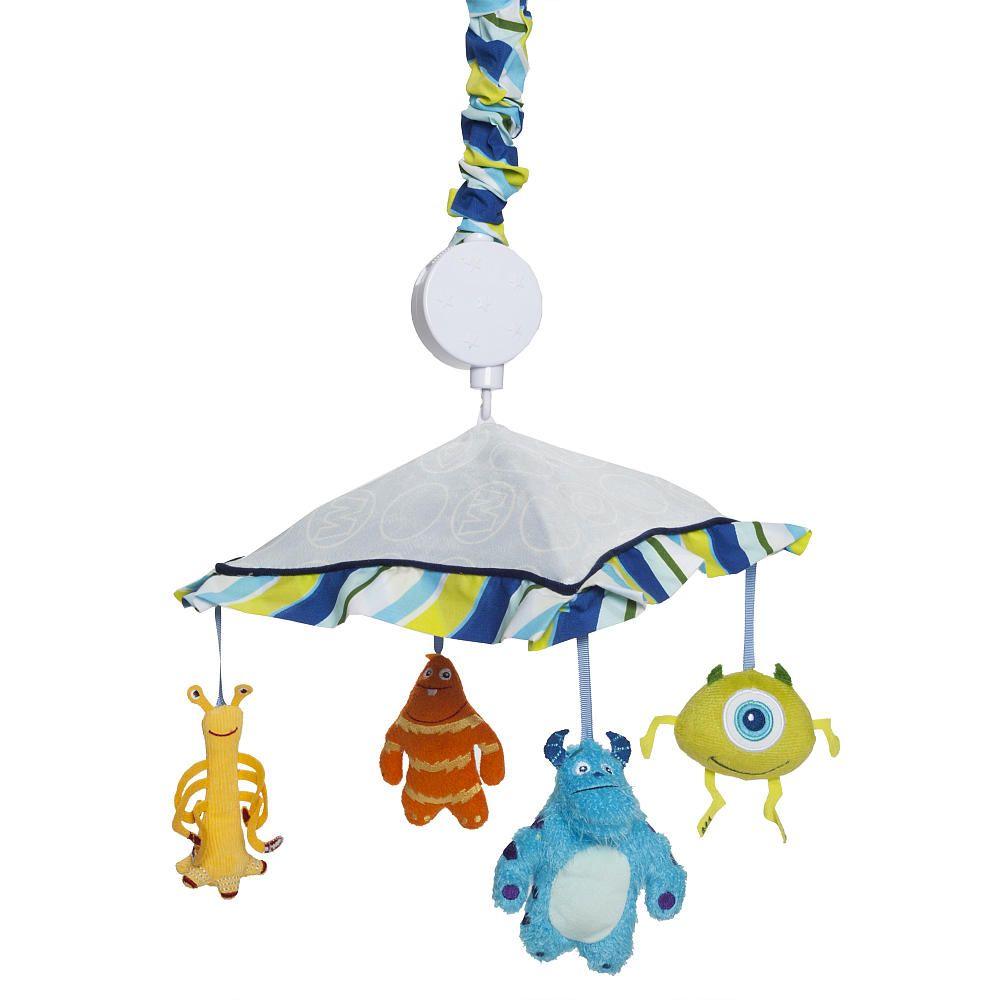 Mobile for crib babies r us - Monsters Inc Musical Mobile Kids Line Babies R Us