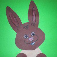 Filtertüten-Osterhase | basteln mit Kindern - Frühling