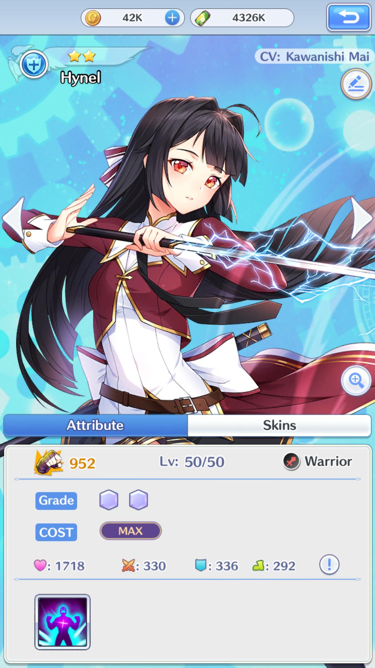 ⭐️⭐️ Hynel GirlsXbattle2 IOS App CardGame Anime