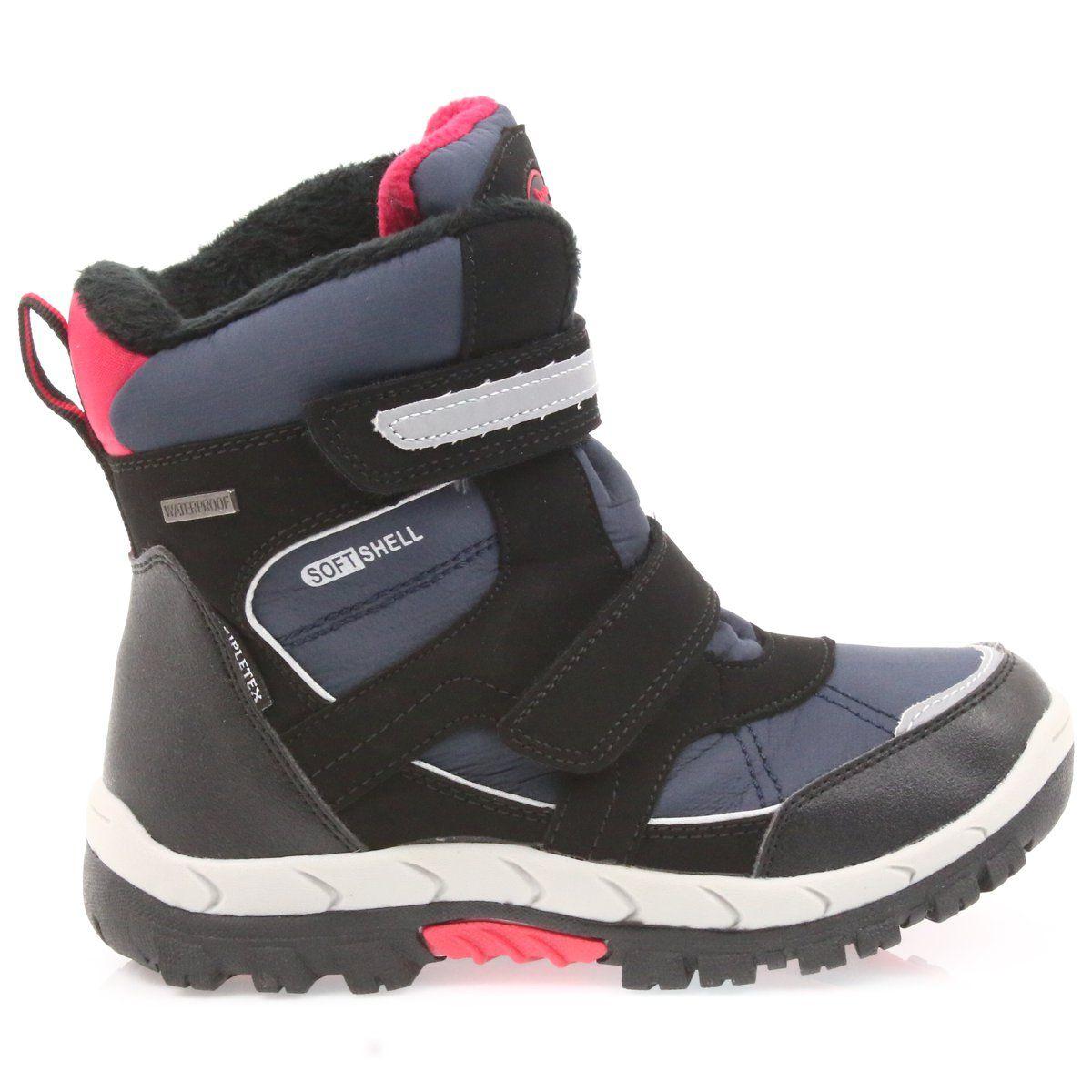 American Club American Kozaki Buty Zimowe Z Membrana 1813 Czarne Czerwone Granatowe Puma Fierce Sneaker High Top Sneakers Top Sneakers