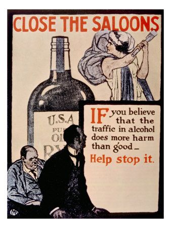 Yup, because Prohibition stopped the trafficking of alcohol.