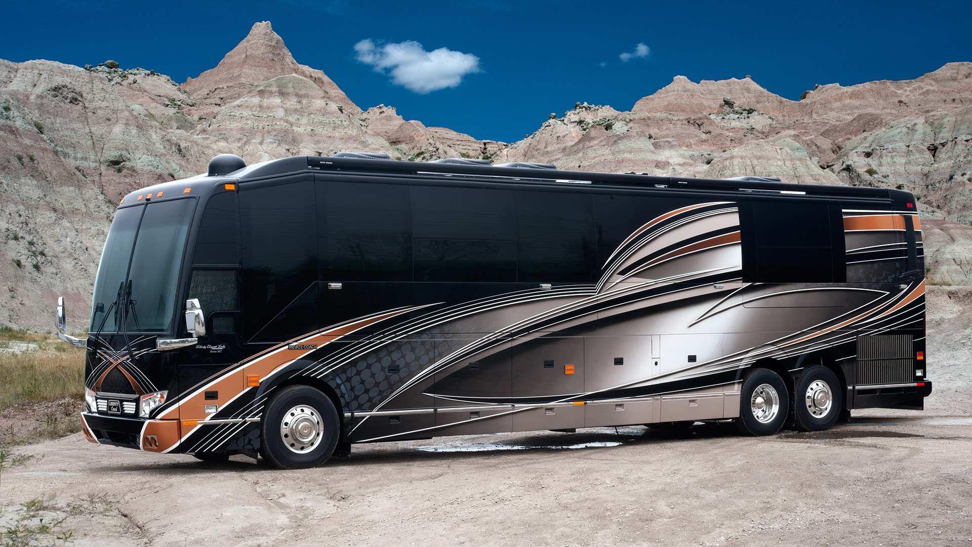 The World S Most Luxurious Rv Interiors Tour Bus Interior