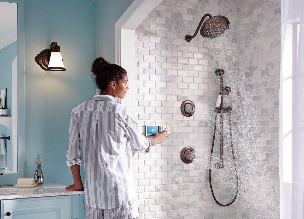 The Brand New 2019 Bathroom Technology Trends Digital Showers Moen Bathroom Technology