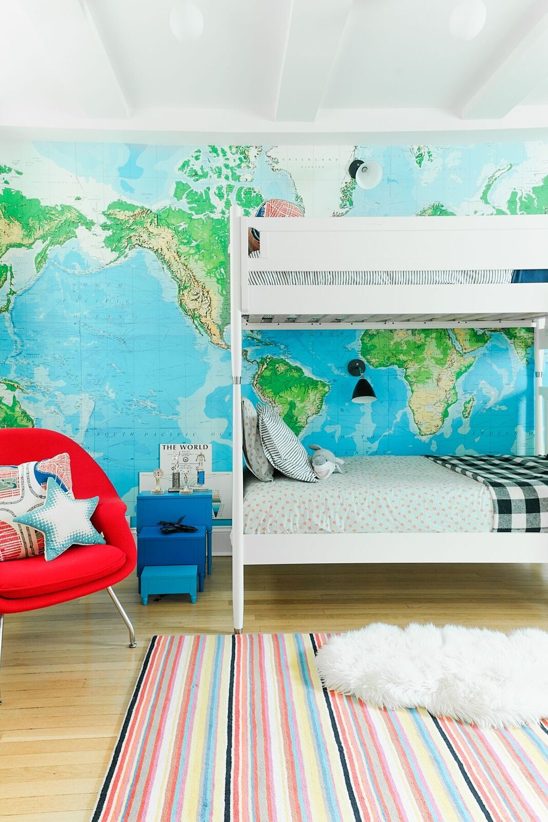 colorful nyc apartment kid friendly design home tour for the kids rh pinterest com