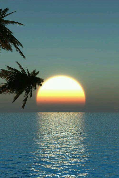Sunset in the horizon..