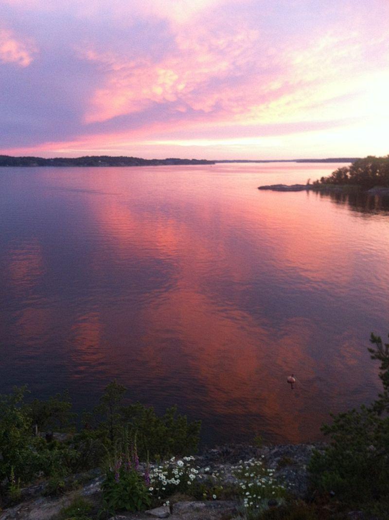 Stockholm archipelago - Wiew from Stora Saxaren