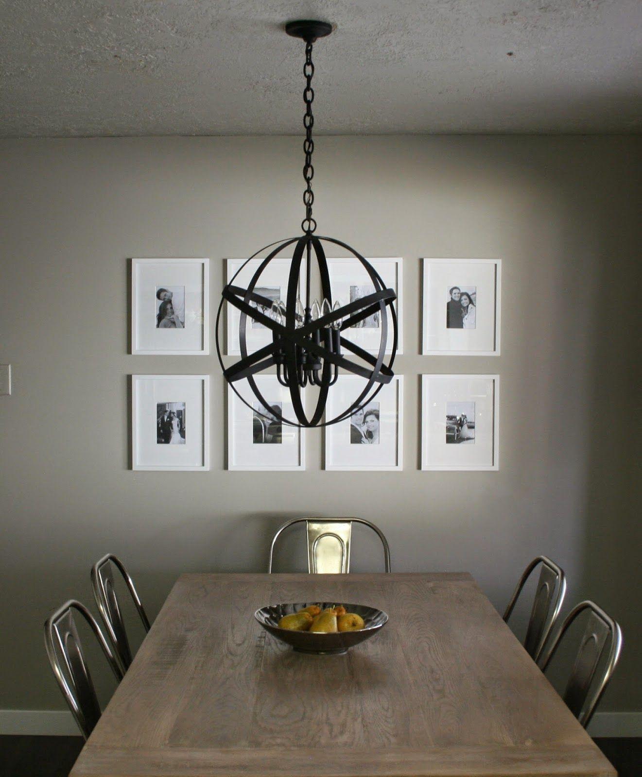 andrea west design blog diy designer black orb chandelier rh pinterest com
