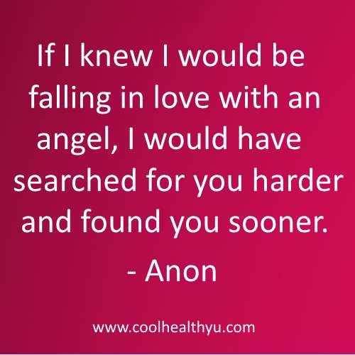 Angel Love Quotes Unique Cute Love Quotes For Him And Her  Cool Healthy U  Relationships
