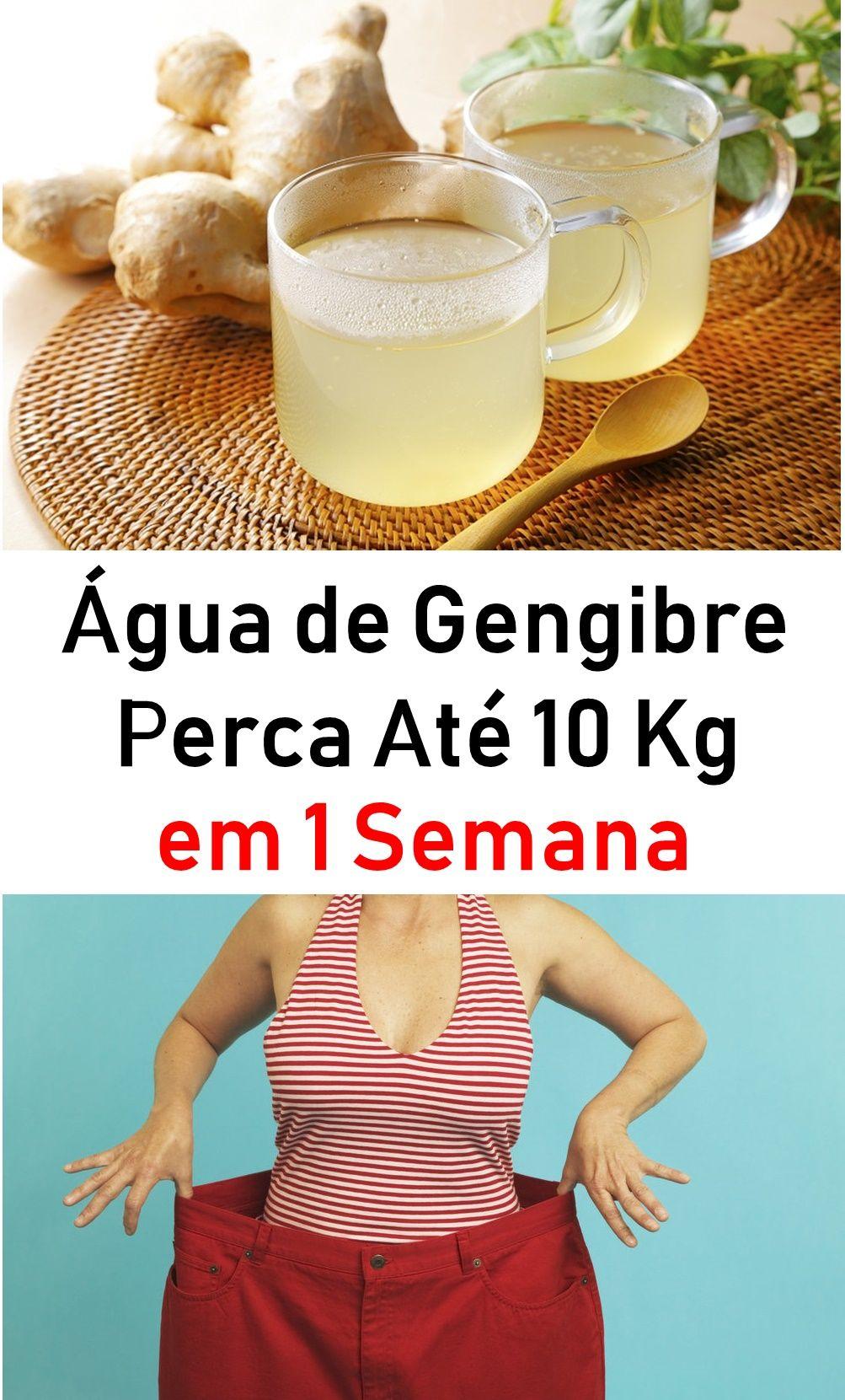 Agua De Gengibre Perca Ate 10 Kg Em 1 Semana Agua De Gengibre