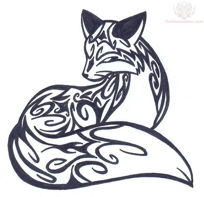 Celtic Fox Tattoo Pin Amazing Tribal Fox Tattoos Design Cake On Pinterest 5062 Jpg Celtic Tattoos Fox Tattoo Design Tribal Drawings Tribal Fox