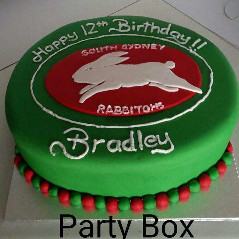 South Sydney Rabbitohs Birthday Cake