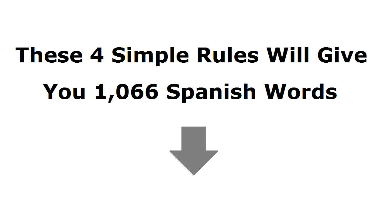 1 Spanish Tip Learning Spanish How To Speak Spanish Spanish