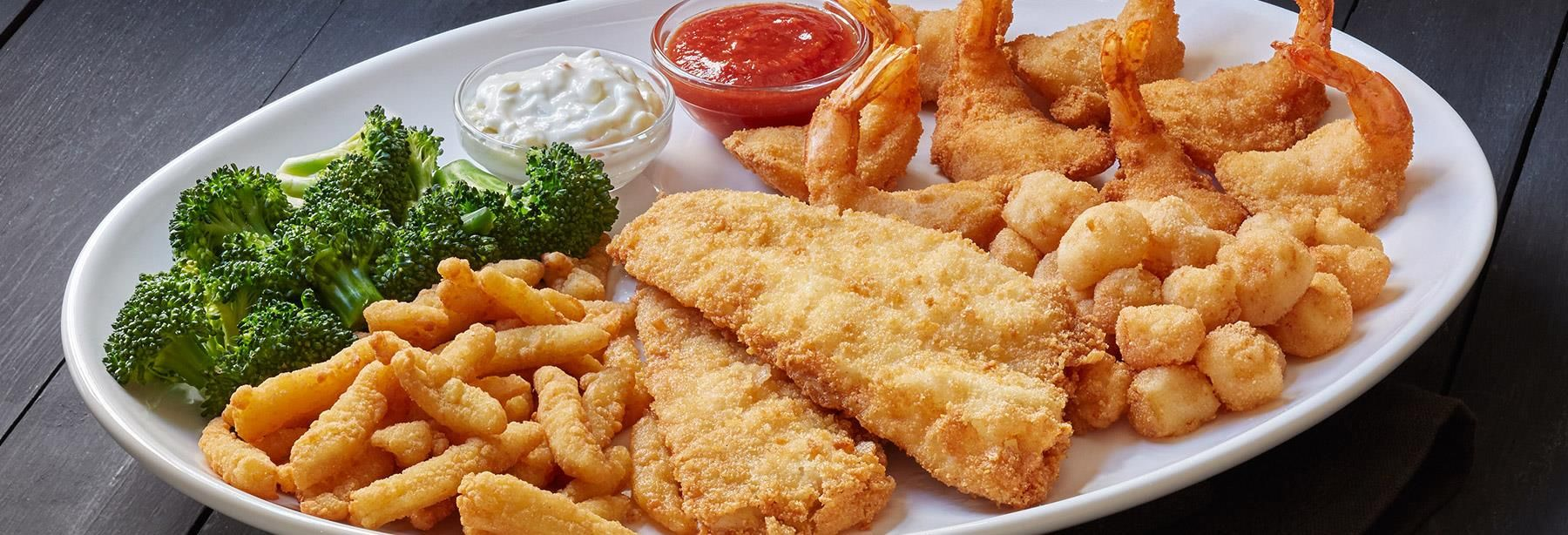 Red Lobster's Admiral's Feast contains 1,420 calories and