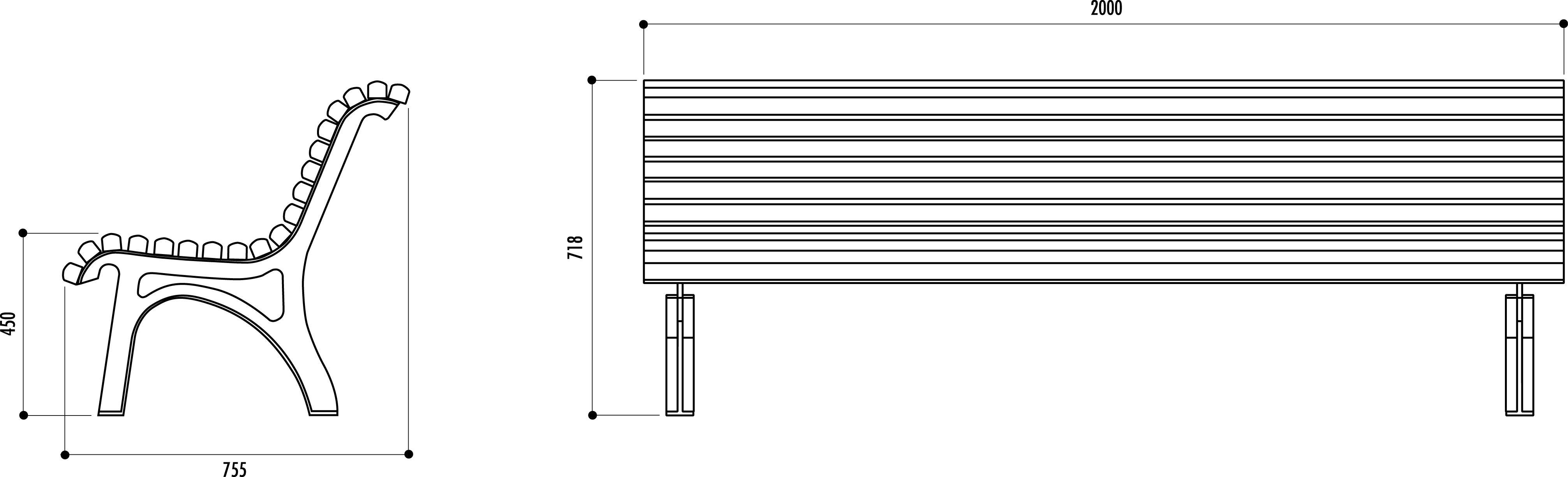 r sultats de recherche d 39 images pour dimension banc public am nagement place pinterest. Black Bedroom Furniture Sets. Home Design Ideas