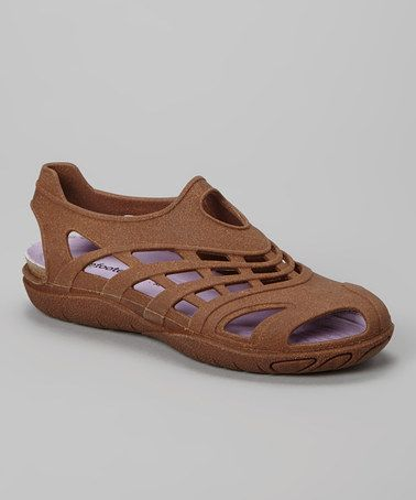 Take a look at this Natural Cork Kilkee Slip-On Shoe - Women by Barefooters on #zulily today!