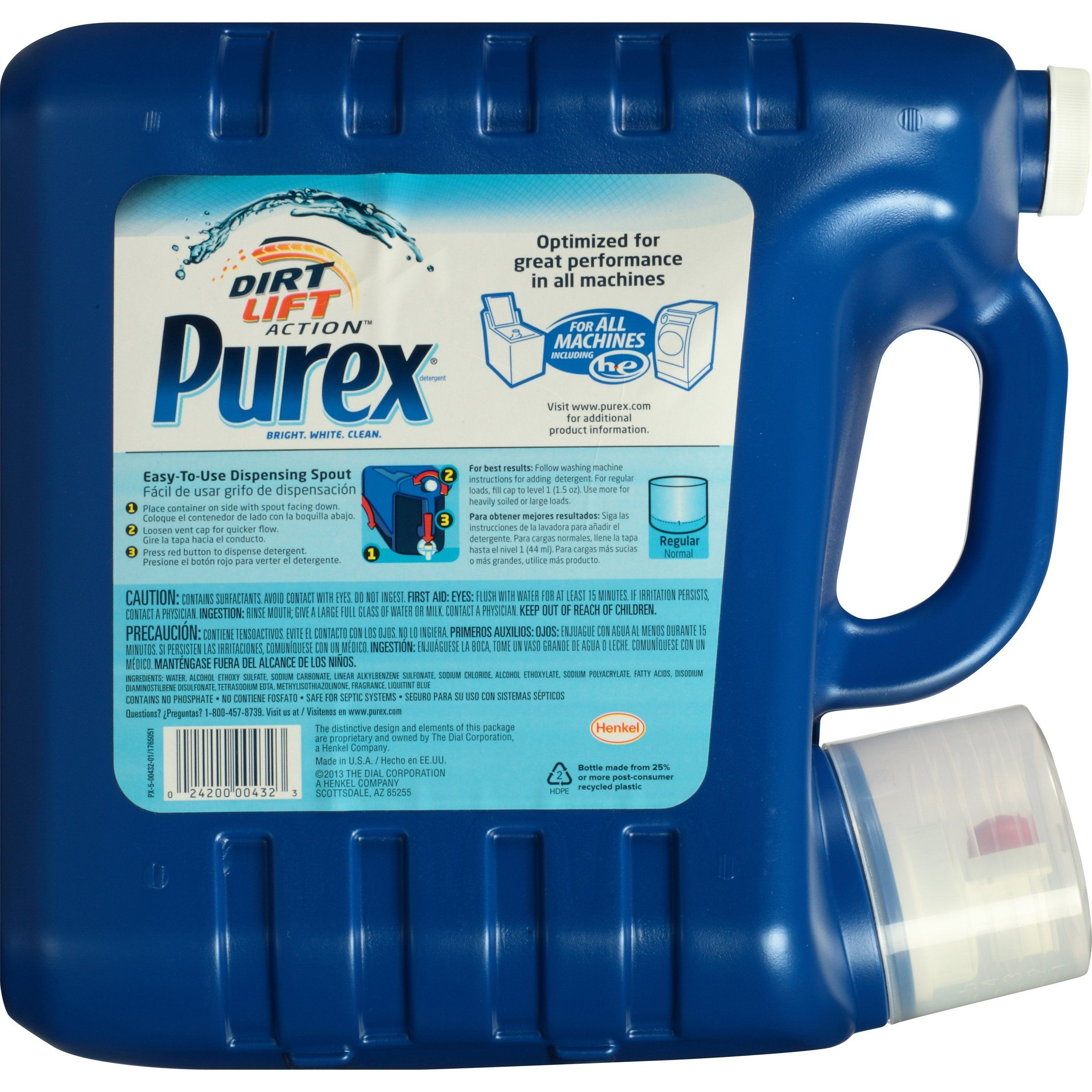 Purex Liquid Laundry Detergent Mountain Breeze 300 Oz 200 Loads Click Image For More Details This Is An Aff Baby Detergent Purex Liquid Laundry Detergent
