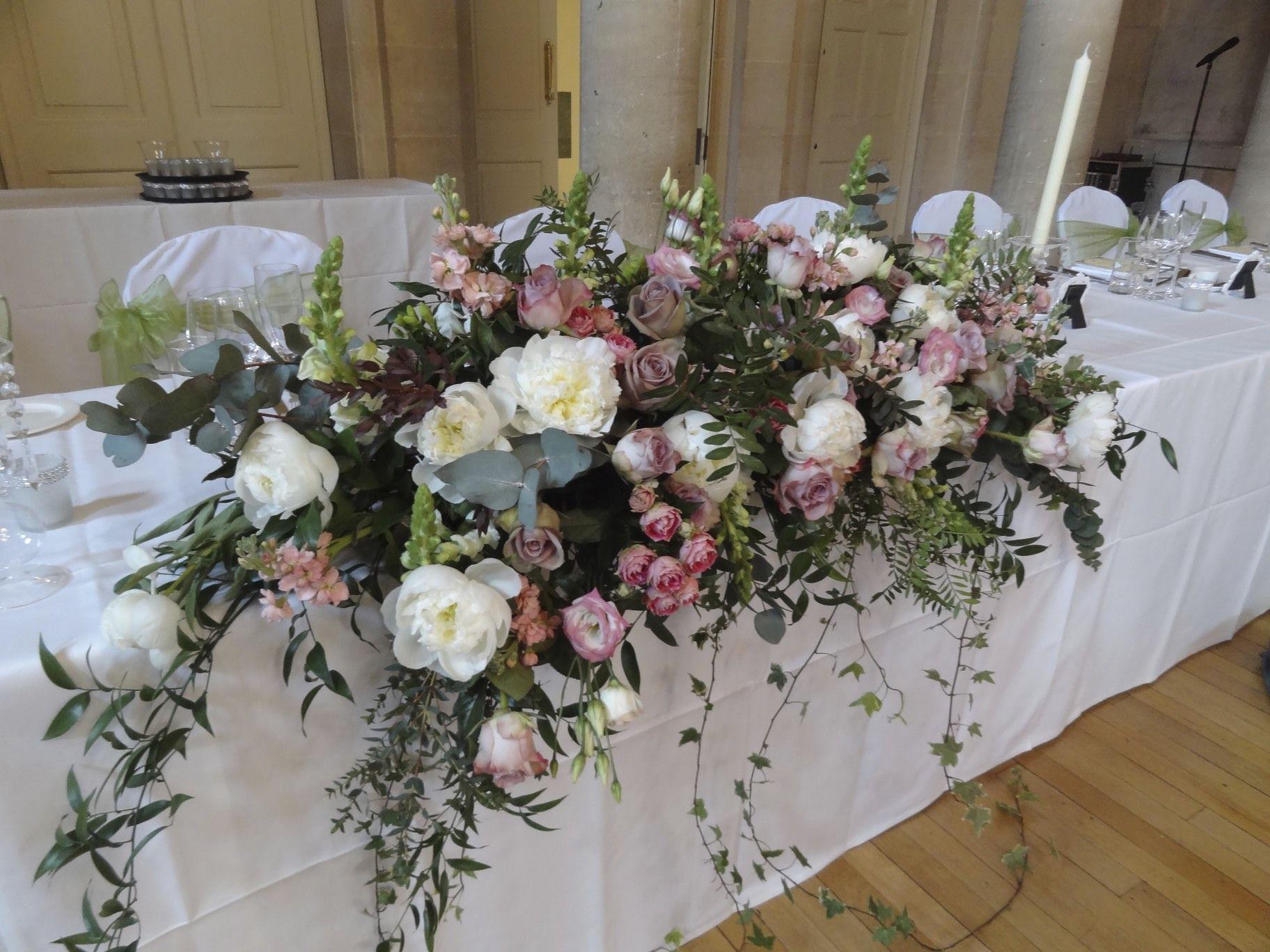 Large Long Low Arrangement Jilljeffries Com Flower Centerpieces
