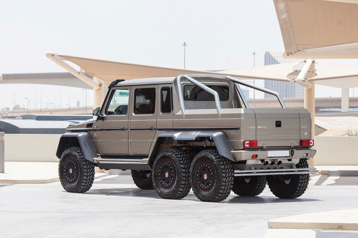 2018 Mercedes Benz G63 Amg 6x6 Brabus 1 035 000 With Images