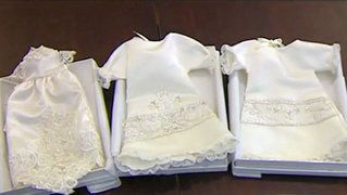 Wedding dresses turned into 'angel gowns' for babies who never make it home